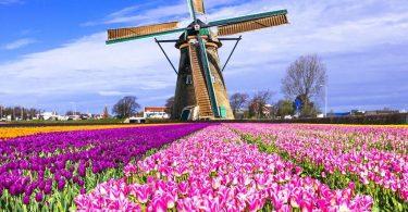 Holland na-apụ n'anya site na map ndị njem