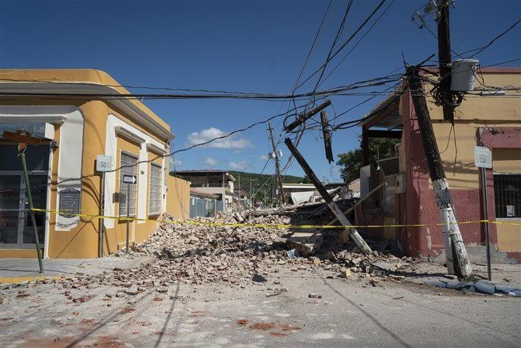 Portoriko zasáhlo další ničivé zemětřesení