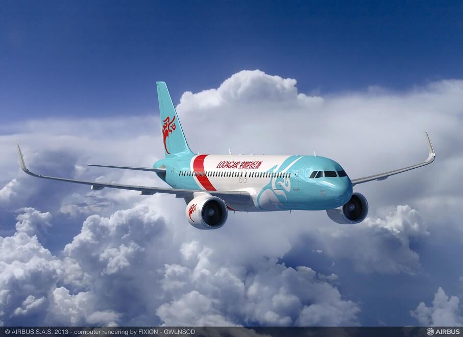 Loong Air lanseart flecht fan Chengdu nei Tasjkent, Oezbekistan