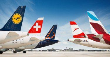 Авіякампанія Lufthansa Group: 145 мільёнаў пасажыраў у 2019 годзе