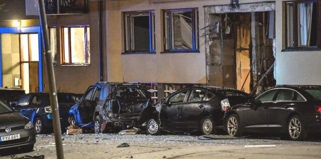 Выбухі ўзрушаюць Стакгольм і Упсалу, бо хваля бамбаванняў у Швецыі працягваецца