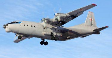 Olona 18 no matin'ny fianjerana fiaramanidina Antonov AN-12 vita Rosiana tany Sudan