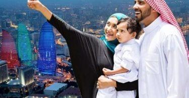 アゼルバイジャンの報告によると、中東と北アフリカからの観光客の到着が急増しています