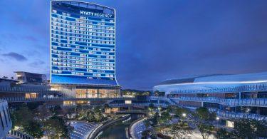 न्यू हयात रीजेंसी होटल दक्षिणी चीन के ग्रेटर बे एरिया में खुलता है