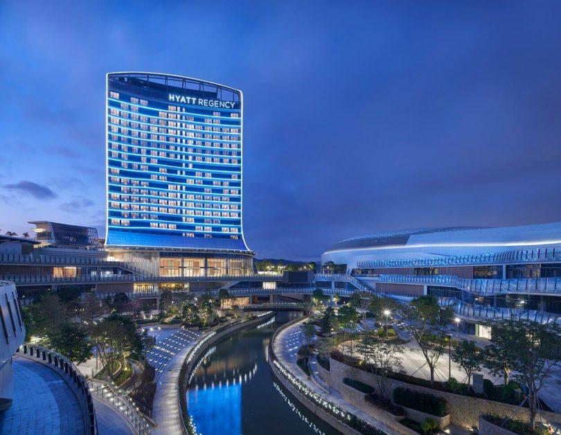 Det nye Hyatt Regency-hotel åbner i Greater Bay Area i det sydlige Kina