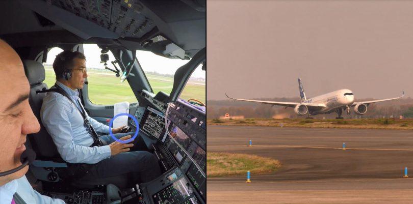 ایرباس اولین پرواز کاملاً خودکار مبتنی بر دید را نشان می دهد
