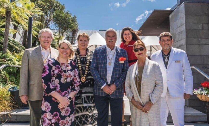Skål Komite Egzekitif Satisfè nan Christchurch