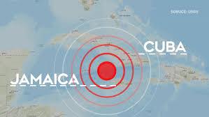 Kubu zasáhlo masivní zemětřesení 7.7