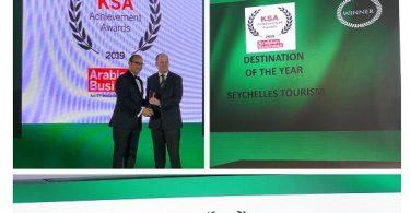 Sejšeli osvajaju KSA Arabian Business Awards na odredištu godine
