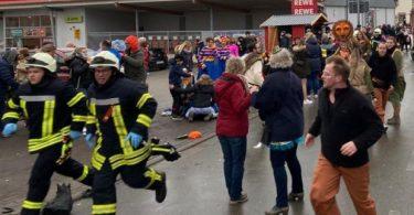 هجوم بسيارة في موكب كرنفال يصيب 10 أشخاص في ألمانيا