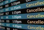 US-Flughäfen nach Flugstornierungsraten