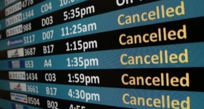 US airports ranked by flight cancellation rates