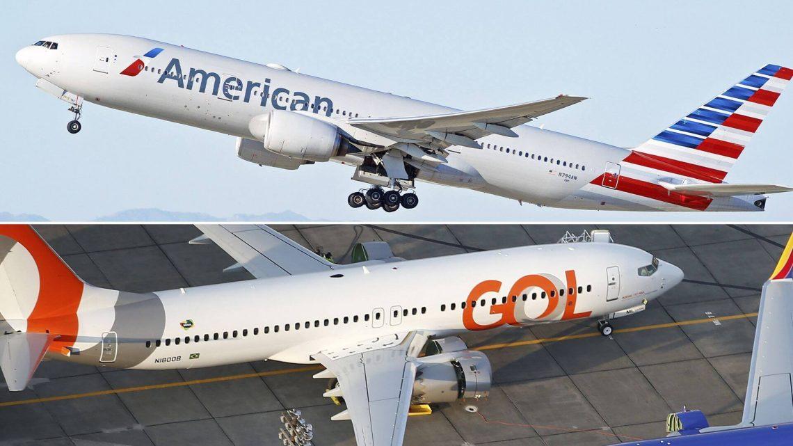 GOL Brasil lan American Airlines ngumumake perjanjian codeshare