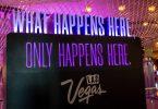 Las Vegas vykresluje město fialově