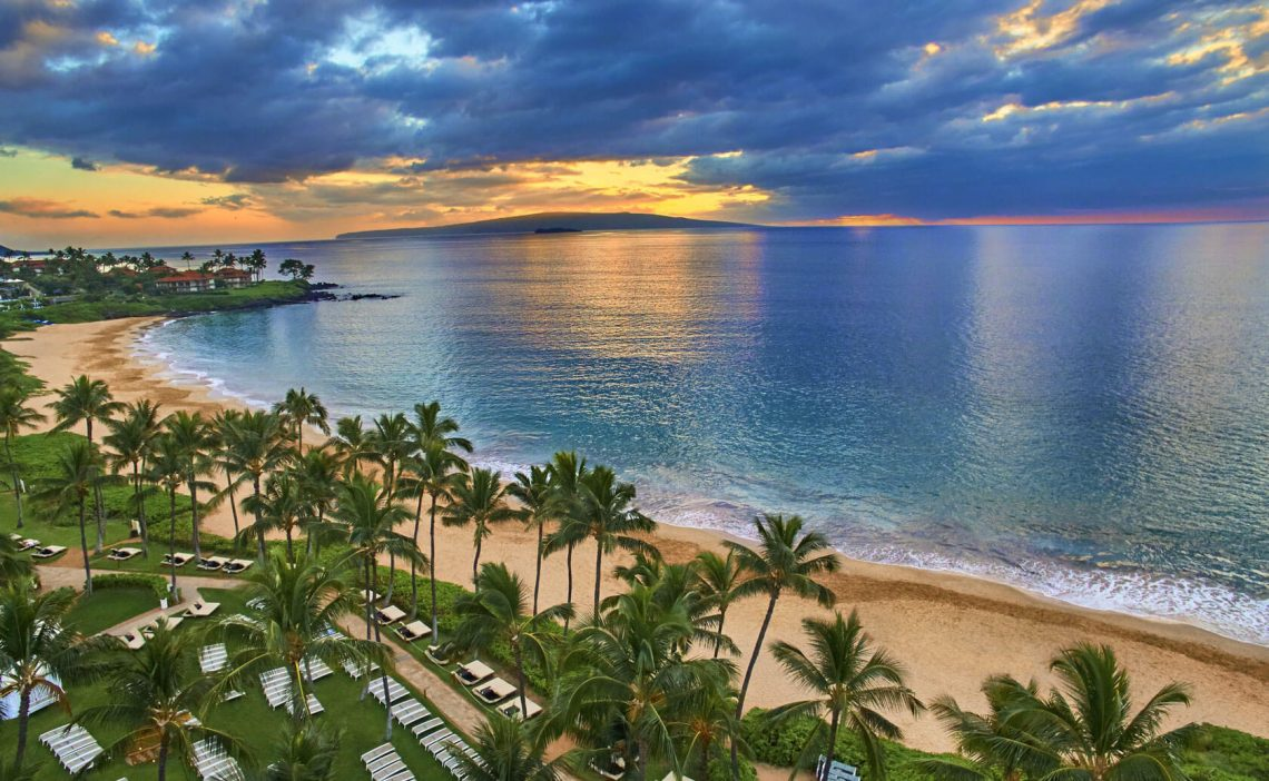 Most expensive US Presidents' Day destinations are located on Maui, Hawaii