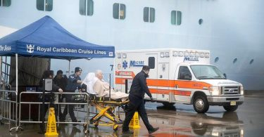 Chinese cruise ship passengers hospitalized in New Jersey after coronavirus screening