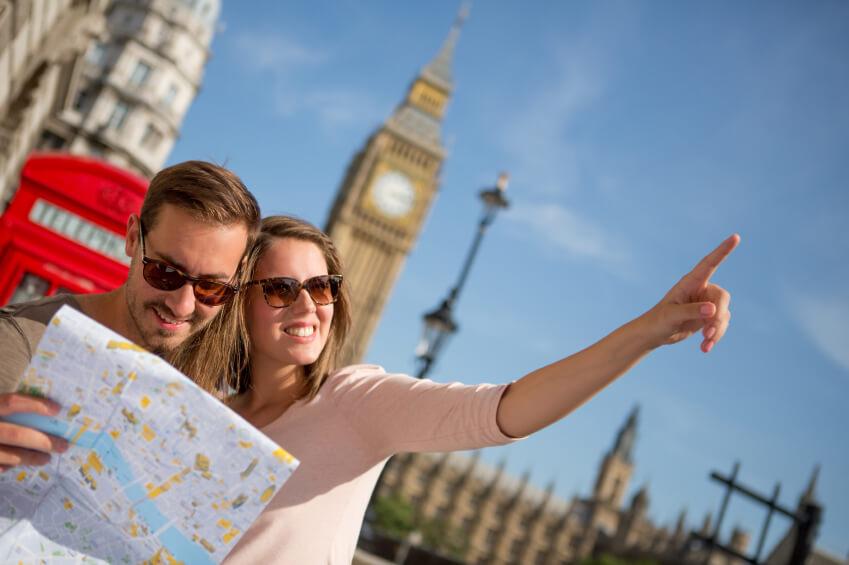 گردشگری انگلستان: ثبت بازدید و هزینه از ایالات متحده آمریکا