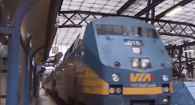 VIA Rail Canada cancels all services