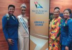 South African Airways ramène Miss Univers chez elle à bord d'un nouvel Airbus A350-900