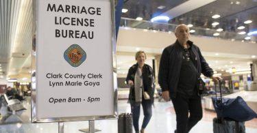 Zum Valentinstag wird am Flughafen Las Vegas ein Pop-up-Heiratslizenzbüro eröffnet