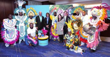 Bahamas Tourism slaví zahájení přímého letu United Airlines z Denveru do Nassau
