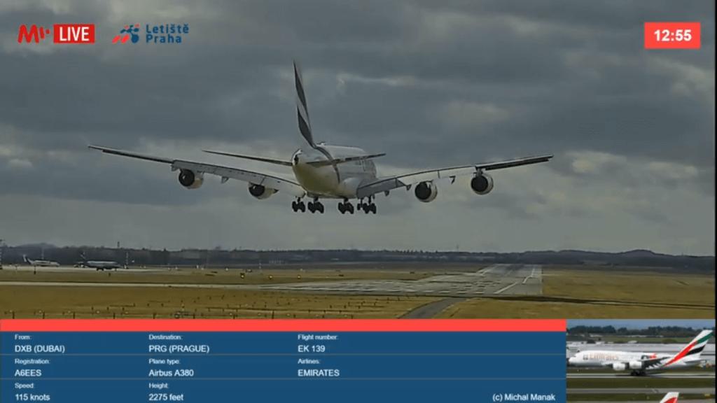 L'aeroportu di Praga lancia in diretta flussu in alta risoluzione