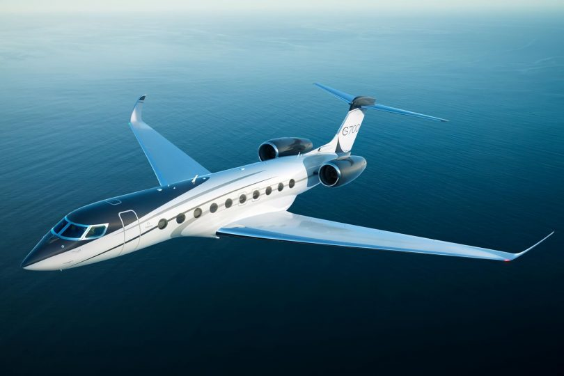 All-new Gulfstream G700 completes its first flight