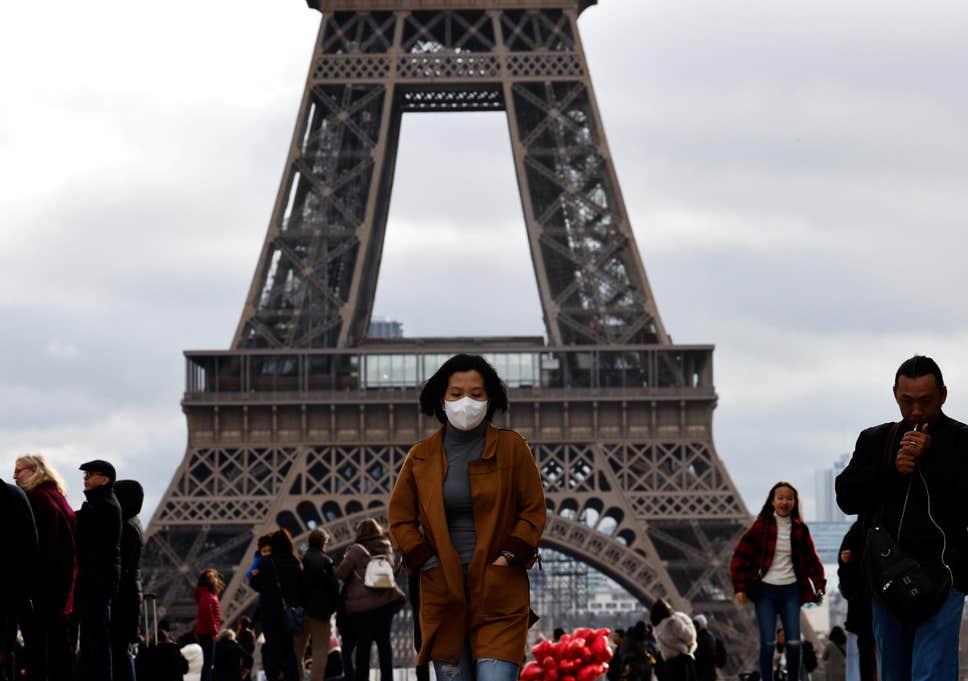 Primeira morte por coronavírus na Europa: turista chinês morre em hospital de Paris