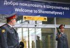 Wokwera atanyamula zipolopolo zomwe zamangidwa ku eyapoti ya Moscow Sheremetyevo