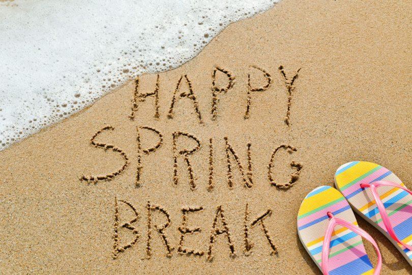 Sunshine over snow for Spring Break 2020 travelers