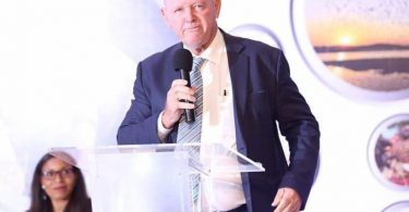 African Tourism Board President taler åbningsceremoni for Ugandas Pearl of Africa Tourism Expo