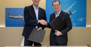 Airbus og Civil Aviation Authority of Singapore underskriver MOU