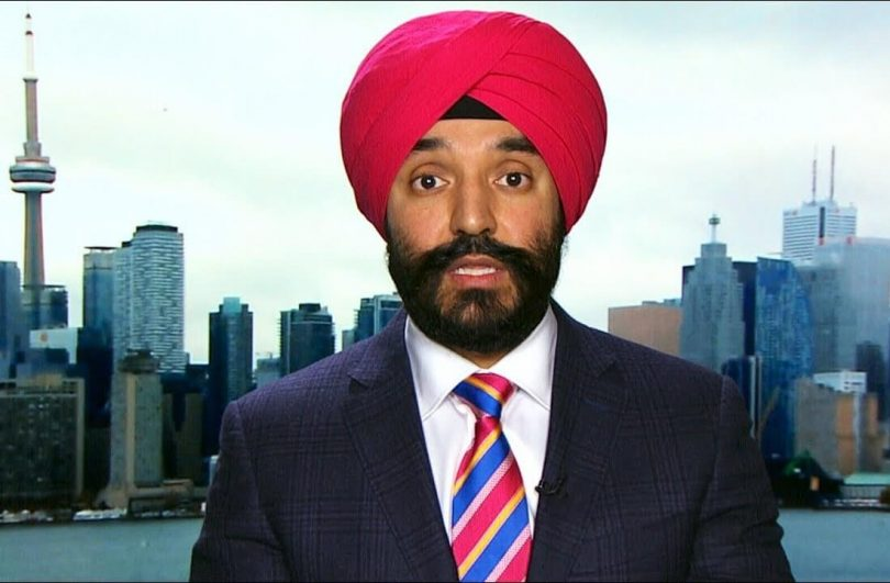 Canada's Minister Bains comments on sale of Bombardier Transportation to Alstom SA