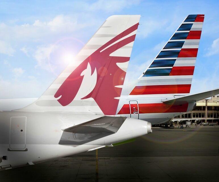 कतर एयरवेज और अमेरिकन एयरलाइंस कोडशेयर समझौते पर हस्ताक्षर करते हैं
