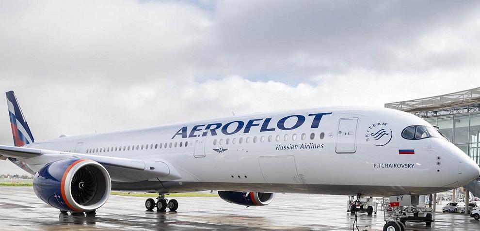 Aeroflot اولین A350-900 را تحویل می گیرد
