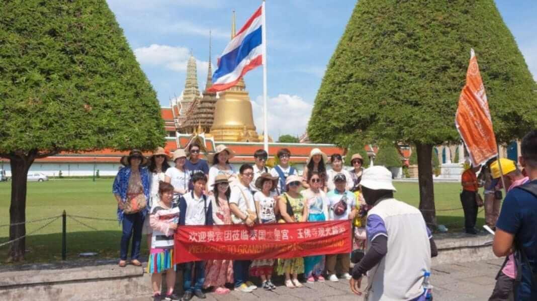 थाईलैंड का चीन से 1.6 बिलियन डॉलर का पर्यटन नुकसान है