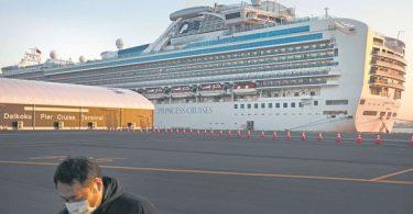 Cestující na Havaji na plavbě Diamond Princess bez koronaviru COVID-19