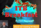 How do we cope? Join Safertourism, PATA and ATB  for breakfast at ITB Berlin