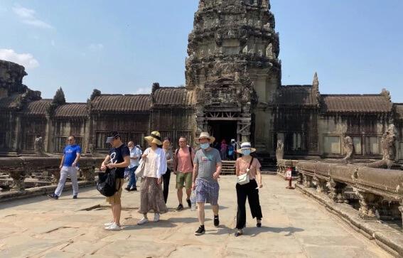 Siem Reap begrüßt chinesische Touristen mit offenen Armen