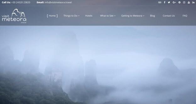 Travel Domains Success Story: Visitmeteora.travel
