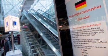 Epidemia di coronavirus in a regione di Düsseldorf, in Germania