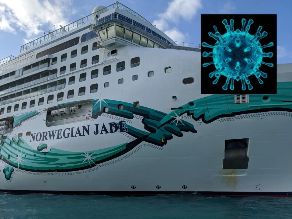 A scary diary from a cruise on Norwegian Jade
