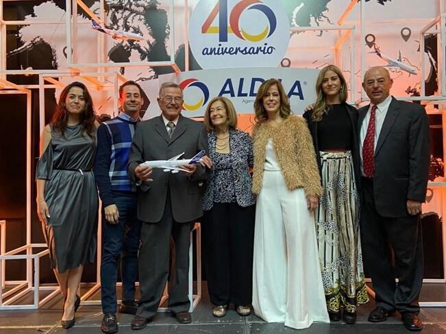 UNIGLOBE Aldila Agencia de Viajes celebrates 40th anniversary