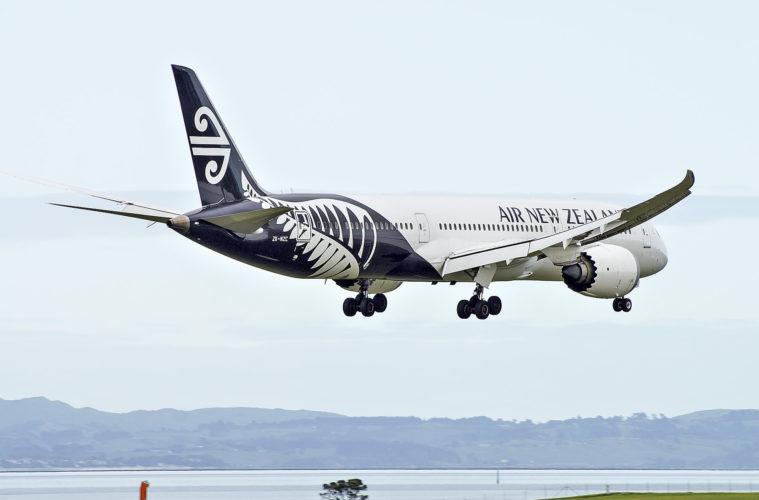 एयर न्यूजीलैंड ने अपनी अंतरराष्ट्रीय क्षमता में 95% की कमी