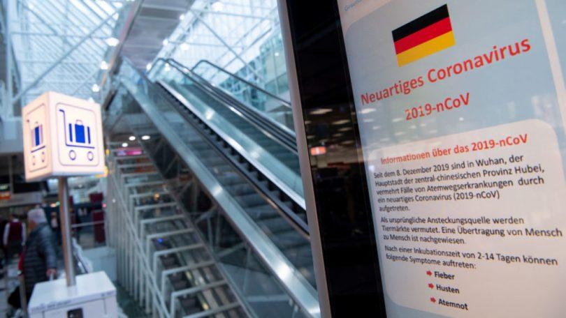 Aeropuerto de Múnich en modo crisis