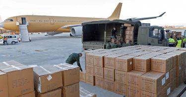 Airbus afhendir andlitsgrímur frá Kína til að styðja COVID-19 bardaga Evrópu