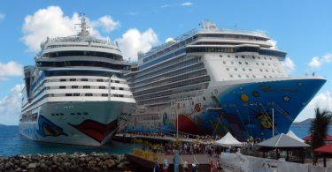 جزر فيرجن البريطانية توقف السفن السياحية وتغلق ميناء تورتولا للرحلات البحرية