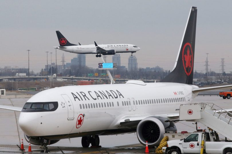 Air Canada hampihena 90% ny fahafaha-manao noho ny fiatraikany Covid-19
