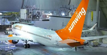 Canada's Sunwing Airlines halts operations, lays off 470 pilots