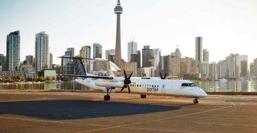 Porter Airlines pozastavuje všechny lety